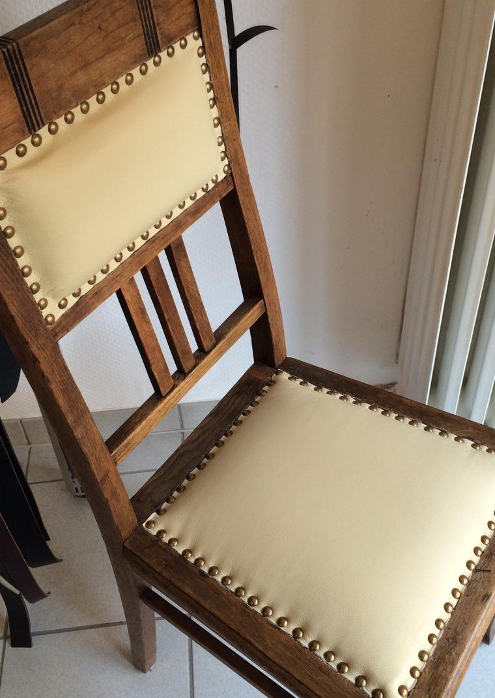 Stühle Beziehen leder home